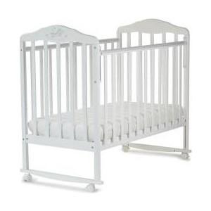 Кроватка Malika Зебра белый 210111 (АБ 17 2)