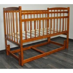 Кроватка Массив Беби 3 цвет Итальянский орех (S1R+S1O)