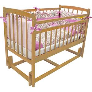 Кроватка Массив Беби 3 цвет светлый (ML 03)