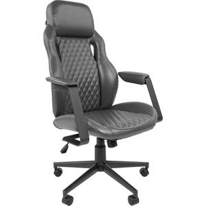 Офисноекресло Chairman 720 экопремиум серый офисное кресло chairman 610 черный серый
