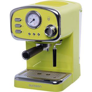 Рожковая кофеварка Oursson EM1505/GA (Зеленое яблоко) пластиковая бутылка oursson зеленое яблоко 1 л