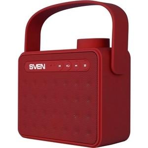 Портативная колонка Sven PS-72 red