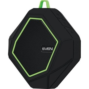 Портативная колонка Sven PS-77 black/green sonance ps p43t black