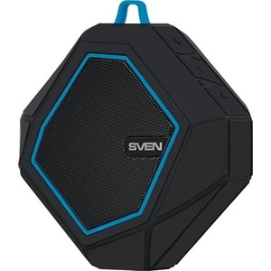 Портативная колонка Sven PS-77 black/blue колонка sven ps 70bl