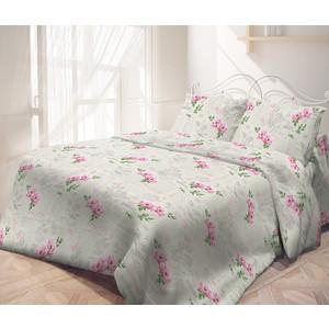 цена Комплект постельного белья Самойловский текстиль евро, бязь, Влюбленность (714137) онлайн в 2017 году