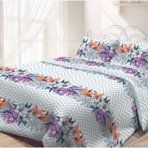 цена Комплект постельного белья Самойловский текстиль евро, бязь, Ноктюрн (714232) онлайн в 2017 году