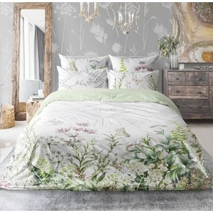 Комплект постельного белья Love me евро, перкаль, Bloom (723021)