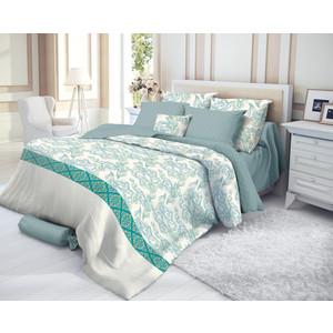 Комплект постельного белья Verossa евро, сатин, Azure (719558) комплект постельного белья tiffany s secret евро сатин черничные ночи