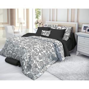 Комплект постельного белья Verossa семейный, сатин, Guise (719585)