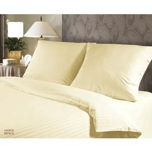 цены Комплект постельного белья Verossa Stripe семейный, страйп, Amber (711225)