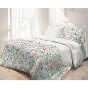 Комплект постельного белья Самойловский текстиль семейный, бязь, Гербарий (726222)