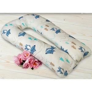 Подушка для беременных AmaroBaby u - образная 340х35 (в лесу) (amaro-40u - vl) подушка для беременных dreambag подушка для беременных c образная