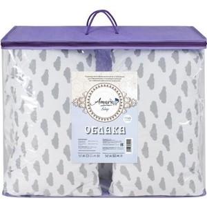 Подушка для беременных AmaroBaby u - образная 340х35 (облака вид серый) (amaro-40u os)