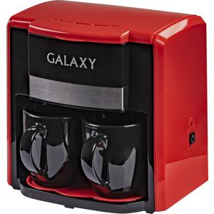 Кофеварка GALAXY GL 0708 (красная) кофеварка galaxy gl 0703