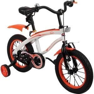 Велосипед 2 х колесный Capella (оранжевый+белый)
