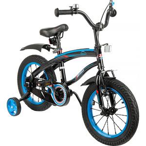 Велосипед 2 х колесный Capella (синий+черный)