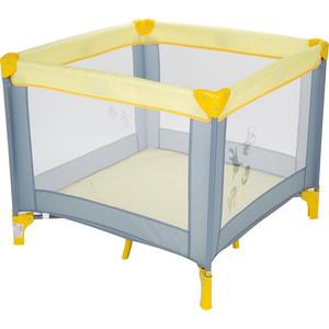 Манеж Capella SWEET TIME COSMOCATS(B/S), серый+желтый