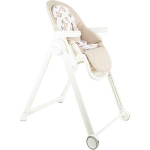 стульчик для кормления capella s 207 зеленый Стульчик для кормления Capella бежевый