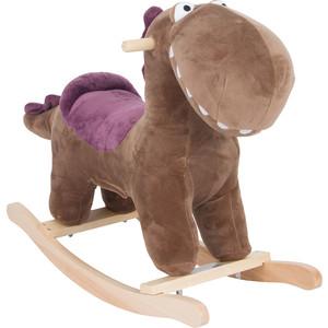 Качалка игрушка Leader Kids Динозаврик, КОРИЧНЕВЫЙ