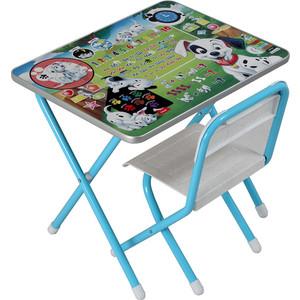 Набор мебели Дэми №1 (стол+стул) Далматинцы, (гол)