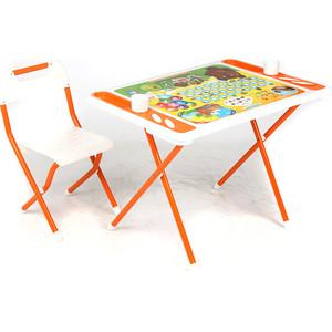 Набор мебели Дэми №у3-05 evro Винни пух, (бел/оранж)