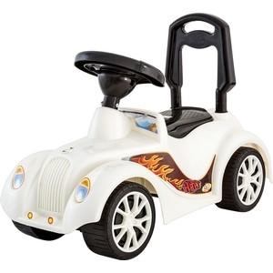 цена на Каталка RT машинка Ретро с клаксоном белая (5313)