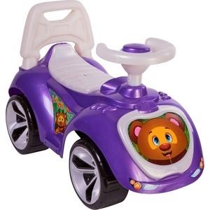 лучшая цена Каталка RT Мишка (LAPA) цвет фиолетовый (6879)