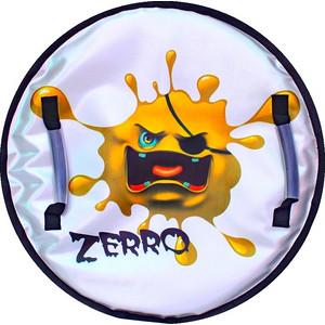 Ледянка RT Монстрик с пластиковым дном ZERRO желтый, 50 см (6138)