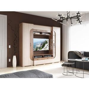 Стенка Гранд Кволити Пальмира 6-569 ясень темный/светлый гранд кволити стенка для гостиной венеция 6 915