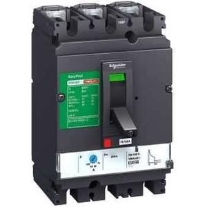 цена Выключатель автоматический Schneider Electric силовой 3п CVS 80А 25кА TM80D 100B EasyPact (LV510306) онлайн в 2017 году