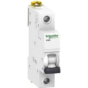 Выключатель автоматический модульный Schneider Electric 1п C 50А 6кА iK60 Acti9 SchE A9K24150 автоматический выключатель schneider electric ik60 1п 32a c a9k24132