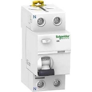 Выключатель дифференциального тока (УЗО) Schneider Electric 2п 25А 30мА тип AC iID K Acti9 SchE A9R50225 узо schneider electric dekraft 2p 25а 30ма тип ac 6ка 14054dek
