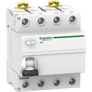 Выключатель дифференциального тока (УЗО) Schneider Electric 4п 25А 30мА тип AC iID K Acti9 SchE A9R50425 узо schneider electric dekraft 2p 25а 30ма тип ac 6ка 14054dek