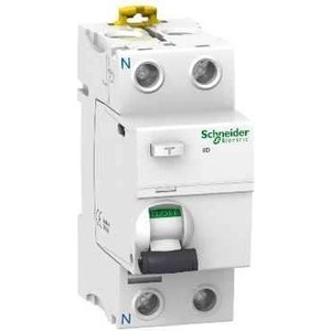Выключатель дифференциального тока (УЗО) Schneider Electric 2п 25А 30мА тип AC iID Acti9 SchE A9R41225 узо schneider electric dekraft 2p 25а 30ма тип ac 6ка 14054dek