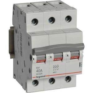 Выключатель-разъединитель Legrand 3п 40А RX3 (419412) rx3 t6 nc nc250
