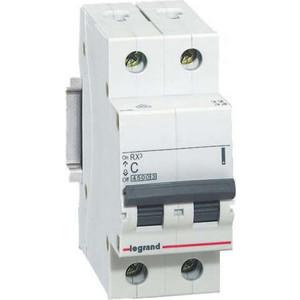Выключатель-разъединитель Legrand 2п 40А RX3 (419407) rx3 t6 nc nc250