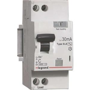 Выключатель автоматический дифференциального тока Legrand 1п (1P+N) C 25А 30мА тип AC 6кА RX3 (419401)
