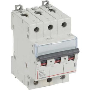 Выключатель автоматический модульный Legrand 3п C 32А 6кА DX3-E (407294)