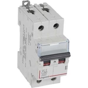 Выключатель автоматический модульный Legrand 2п C 50А 6кА DX3-E Leg 407282