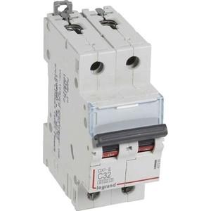 Выключатель автоматический модульный Legrand 2п C 32А 6кА DX3-E Leg 407280