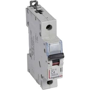 Выключатель автоматический модульный Legrand 1п C 4А 6кА DX3-E Leg 407259 цена