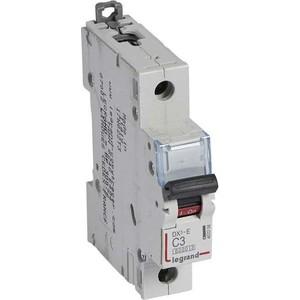 Выключатель автоматический модульный Legrand 1п C 3А 6кА DX3-E (407258) цена