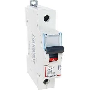 Выключатель автоматический модульный Legrand 1п C 2А 6кА DX3-E (407257) цена