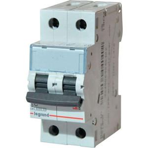Выключатель автоматический модульный Legrand 2п C 63А 6кА TX3 (404048) выключатель автоматический модульный legrand 2п c 16а 6ка tx3 404042