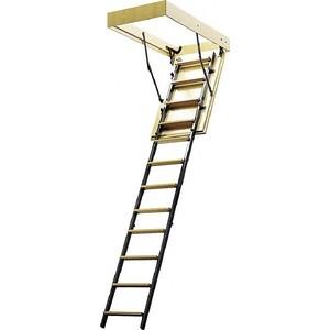 Лестница чердачная ЛЕСЕНКА ЧЛ-3 600х1200 L-2800 мм. утепленная крышка (ЧЛ-3) стоимость