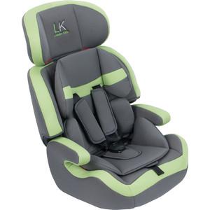 Автокресло Leader Kids CITY TRAVEL Light Grey+Green (св.сер+зелен), 1-2-3 г,(9-36кг) цены