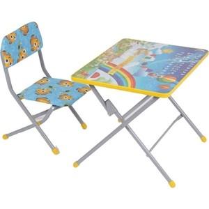 Набор мебели Фея Фея досуг №101 Алфавит и цифры (стол+стул) фея набор детской мебели досуг динозаврики
