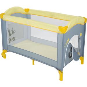 Манеж Capella SWEET TIME COSMOCATS(B), серый+желтый