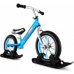 Беговел Small Rider с лыжами и колесами Foot Racer AIR (синий) (1642244) pop bike беговел детский sprint с бескамерными колесами цвет синий