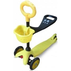 Самокат 3-х колесный Sweet Baby Triplex Seat (желтый) (1636620) цена